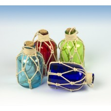 Bottles with String, 10cm, 4 assorted