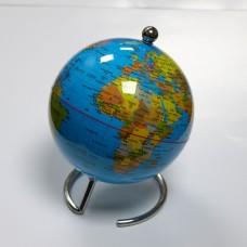 Globe, 10cm, blue