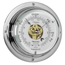 Clipper Barometer (QuickFix), Chrome