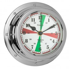 Fitzroy Radio Silence Clock (QuickFix), Chrome