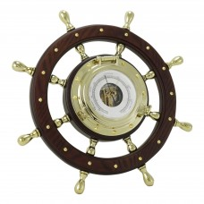 Ship's Wheel Barometer
