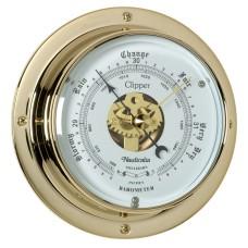 Clipper Barometer (QuickFix), Brass