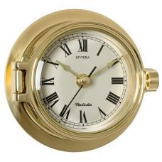 Brass Riviera Clock