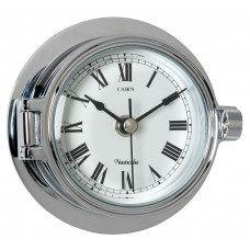 Chrome Riviera Clock