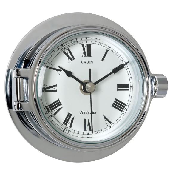 Chrome Riviera Clock