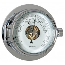 Chrome Riviera Barometer
