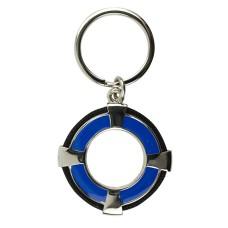 Life Ring Keyring, blue