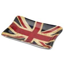 Union Flag Tray, distressed, 12x8cm