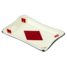 Diamond Card Tray, 12x8cm