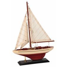 America's Cup Yacht, cream, 26cm