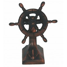 Ship's Wheel Stand Pencil Sharpener