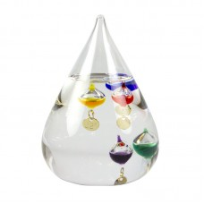 Teardrop Galileo Thermometer, 11cm
