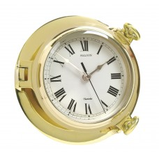 Brass Saloon Clock