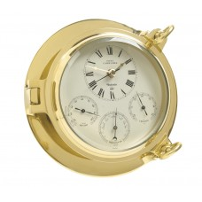 Brass Fleet Commander Clock