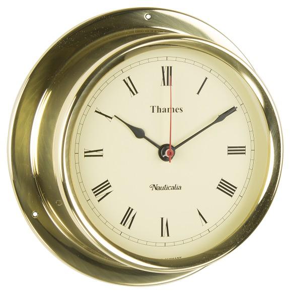 Brass Thames Clock