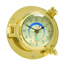 Brass Saloon Tide Clock