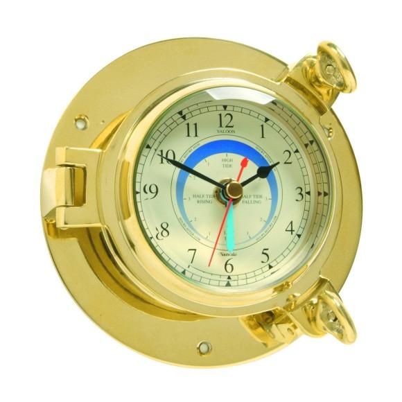 Brass Saloon Tide Clock