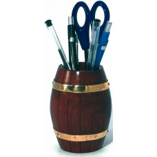 Naval-style Barrel Pen Pot