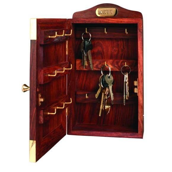 Naval-style Hardwood Keybox