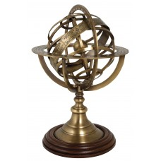 Antique-style Armillary Sphere, 30cm