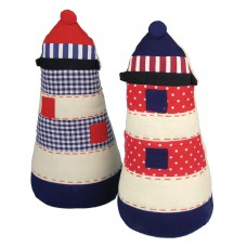 Lighthouse Doorstop, 27cm, 2 assorted
