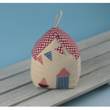 Beach Hut Doorstop, 12x8x17cm