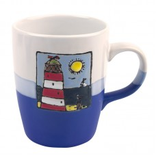 Red Lighthouse Mug, 250ml