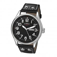 Limit Pilot Watch, black/black