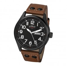 Limit Pilot Watch, brown/black
