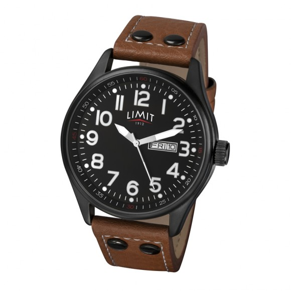 Limit Pilot Watch, brown/black
