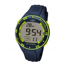 Limit Digital Watch, navy/lime