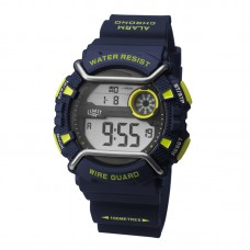 Limit Wire Guard Digital Watch, navy/green