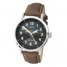 Limit Pilot Watch, silver/brown