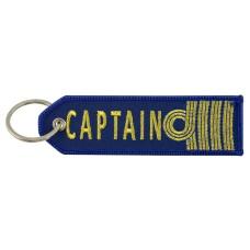 """""""Captain"""" Woven Keyring, 11cm"""