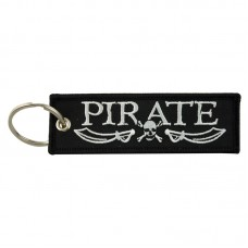 """Pirate"" Woven Keyring, 10cm"